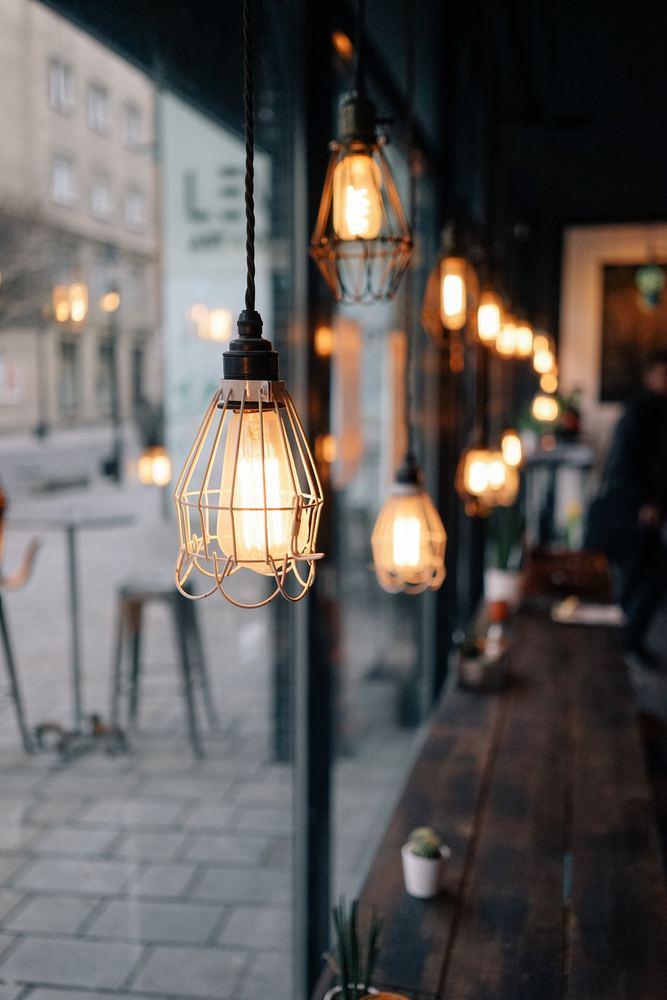 Inreda med lampor